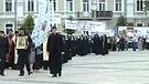 Sedmá manifestace Byzantského katolického patriarchátu proti gay-pride v Kyjevě